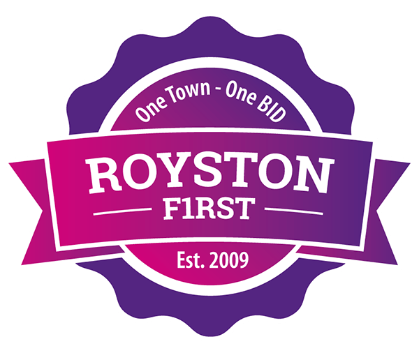 Royston First logo